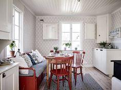 Casita de campo con elementos originales - Blog decoración estilo nórdico - delikatissen