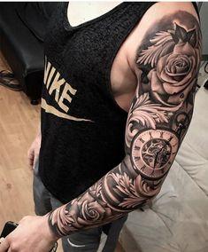 20 braços masculinos fechados de tatuagens para você se inspirar