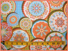 RETRO MOD CALIFORNIA DREAMIN PALM SPRINGS FABRIC BTY #A | eBay