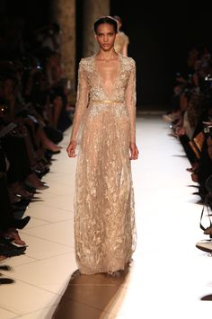Let the Elie Saab pinning avalanche commence | Haute Couture Fall Winter 2012-13