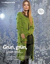 Strickanleitung Noppenmantel Grün Fantastische Strickideen Lang Yarns 0215