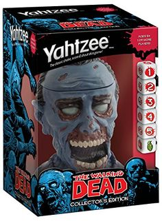 YAHTZEE: The Walking Dead Collector's Edition - Put this fun Walking Dead inspired game under the tree for your fave TWD fan!
