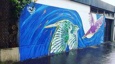 Fresque de @stew_artist  #streetphotography #streetphotographer #igers #igersparis #igersoftheday #StreetArtParis #streetphoto #instagood #streetart #instagraffiti