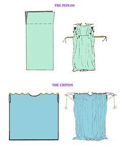 Ancient Roman Clothing, Medieval Clothing, Historical Clothing, Greek Godess Costume, Diy Clothing, Clothing Patterns, Greek Dress, Roman Dress, Roman Clothes