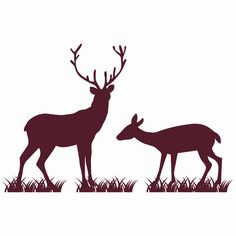wall stickers funky deer amp stag decals zazzle