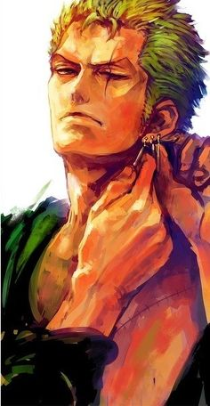 ZORO -One piece. Weird I thought this was Laxus for a second. xD
