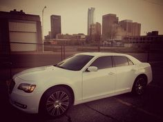 My 2013 Chrysler 300s downtown OKC