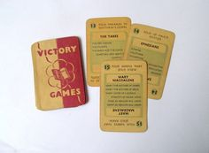 Vintage Bible playing cards: 15 cards from by PinkFlamingoEphemera