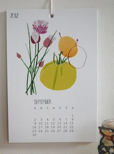 2012 Buy Local Calendar by claudiagpearson, via Flickr