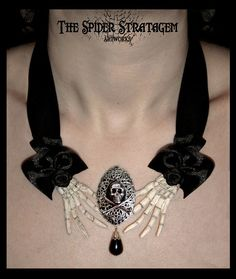 Gothic Victorian Necklace Choker