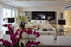Apartamento moderno com decoração Preto & Branco maravilhoso! - Decor Salteado - Blog de Decoração e Arquitetura
