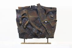 Marcus White,  Welded Steel, Welded Steel, 17 x 6 x 56.5 Inches.