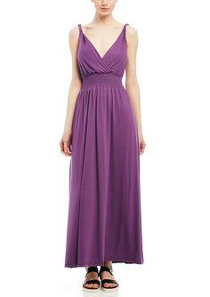 CHRISTINE V V-Neck Maxi Dress | ideel