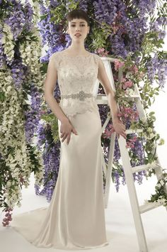 Greta Garbo • This Jade Daniels wedding dress collection is all about old school Hollywood glamour