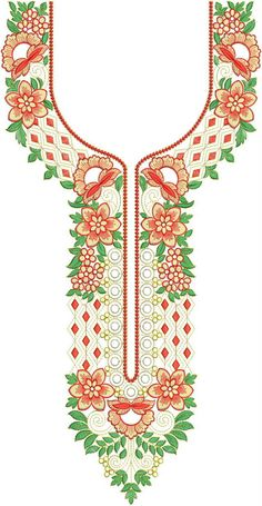 Embroidery Design Hand Embroidery Design Patterns, Textile Patterns, Beading Patterns, Machine Embroidery Designs, Neckline Designs, Embroidery Suits, Japanese Embroidery, Embroidery Techniques, Handicraft