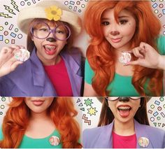 costume 30 Costume Ideas For Best Friends That Prove the Were the Best Stacey and Roxanne From A Goofy Movie (Best Friend Costumes) Goofy Costume, Clever Halloween Costumes, Couple Halloween, Halloween Cosplay, Scary Halloween, Group Halloween, Halloween Ideas, Halloween 2015, Disney Cosplay