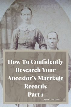 How To Confidently Find Your Ancestor's Marriage Records - Part 1 Finding an ancestor's marriage record is high on a genealogy researcher's list. Learn how to find those marriage records and genealogy tips to help your research. Genealogy Websites, Genealogy Chart, Genealogy Humor, Lds Genealogy, Genealogy Forms, Genealogy Search, Family Genealogy, Find Your Ancestors, Marriage Records