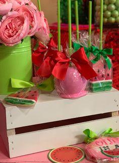 Watermelon Birthday Parties, 1st Birthday Party For Girls, Birthday Party Desserts, 3rd Birthday, One In A Melon, Summer Treats, Dessert Table, Event Planning, First Birthdays