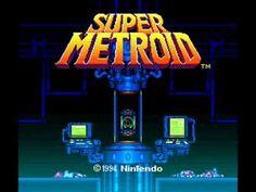 Super Metroid - Opening  Isso não era videogame de criança!   videogame de suspense precisa de boa música - Super Metroid deixa resident Evil no chinelo!
