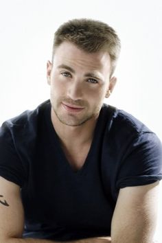 Chris Evans is quickly becoming one of my favorite actors.  His body is nice, but I really love his expressive face and charming personality.