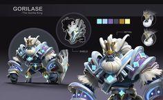 ArtStation - character design practice, Xia Xu