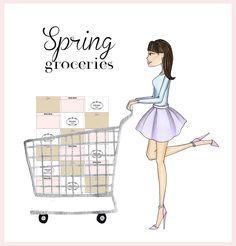 Spring 2013 illustration cute