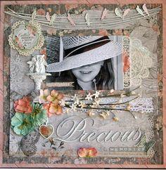 Kaisercraft - Rustic Harmony - The Dusty Attic Blog: Precious Memories - Tina Dalton