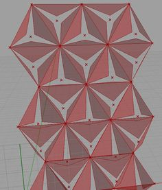 How to populate a 4 point triangular grid (arrow) in a surface of an object? - Grasshopper