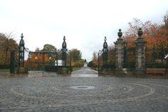 Gates of Pittencrieff Park, Dunfermline.