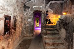 One of the most interesting attractions is Bastion Passage. Guided tours take you through the centuries showing life under city walls. Fortification, Tour Guide, 18th Century, Attraction, Tours, Urban, History, City, Historia