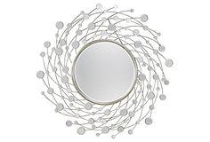 Marsden Mirror, Silver on OneKingsLane.com