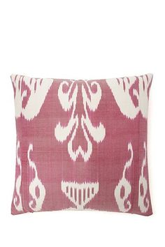 "Faraway Lands Pillow - 20"" x 20"" - Magenta by Frog Hill Designs on @HauteLook"