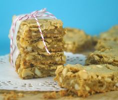 Butterscotch Bars Recipe - Bake Happy