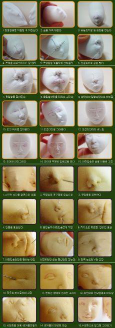 Копилка рукодельных идей и мк: Скульптура лица