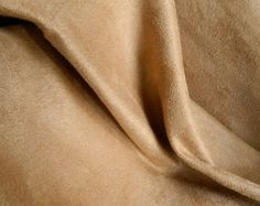 SOFT Washable Microfiber Ultrasuede Fabric CAMEL Slipcovers Upholstery