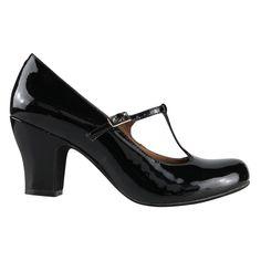 Aster   Heels   Wittner Shoes - T-Bars with a heavier heel - very 20's