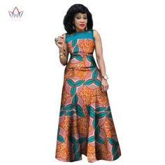 African Dresses for Women, African Print Clothing, Ankara Long Dress Plus Size - Owame Source by African American Fashion, Latest African Fashion Dresses, African Dresses For Women, African Print Fashion, Africa Fashion, African Attire, African Wear, African Outfits, African Style