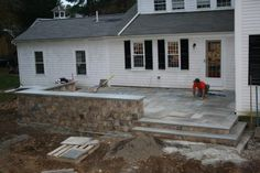 elevated patios | Raised Patio - Masonry Picture Post - Contractor Talk