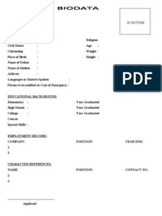 Biodata Format for Marriage Job Resume Format, Resume Pdf, Job Resume Template, Resume Format Free Download, Biodata Format Download, Standard Cv Format, Marriage Biodata Format, Marriage Girl, Bio Data For Marriage