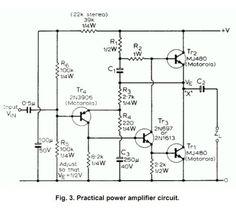 2N3773 2SC5200 Amplifier Circuit 150W 150w amplifier power
