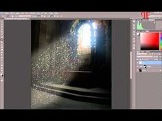 Luz Ambiente - Crear rayos de luz en Photoshop CC - YouTube