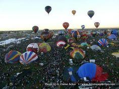 Albuquerque Balloon Fiesta Day 2 Photo by Elaine Acker