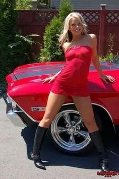 Cars Discover Cars & Girls - Page : 1215 - Photos - Voitures de sport - FORUM Collections Chevy Girl, Mini Cooper S Jcw, Sexy Autos, Canadian Girls, Chevrolet Chevelle, 1971 Chevelle, Hot Rides, Us Cars, American Muscle Cars