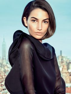 new york city girl: lily aldridge by eduardo rezende for elle brazil april 2013 | visual optimism; fashion editorials, shows, campaigns & more!
