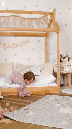 43 Creative Toddler Bedroom Design Ideas To Try Asap - Is it time for you to clear out your child's crib and design a bedroom centered around your toddler's interests? One of the best ways to do this is by. Baby Bedroom, Baby Room Decor, Nursery Room, Room Decor Bedroom, Boy Room, Girls Bedroom, Toddler Rooms, Toddler Bed, Kids Rooms