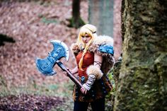 Astrid from How to train your dragon 2 cosplay by PeytonCosplay.deviantart.com on @deviantART