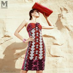 m missoni campaign lookbook print fashion style desert model beauty