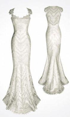 lace wedding dress lace wedding dress--beautiful