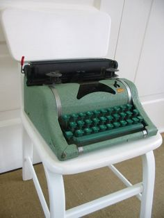 Yes, green or grey. When typing class was an elective  requirement to graduate from my Jr. High School