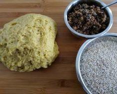 Νηστίσιμα κουλουράκια γεμιστά με καρύδι, σταφίδες και μέλι συνταγή από Zoe Tsomaka - Cookpad Pudding, Sugar, Desserts, Food, Tailgate Desserts, Deserts, Custard Pudding, Essen, Puddings
